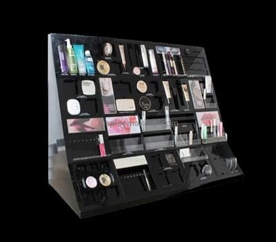 Customize perspex makeup counter display DMD-2241