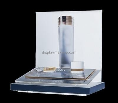 Customize shop acrylic cosmetic display stand DMD-2256