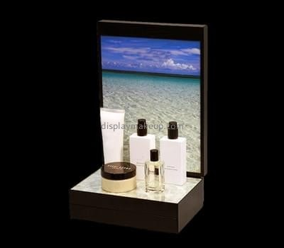 Customize lucite skin care product display stand DMD-2301