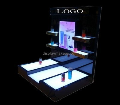 Customize acrylic cosmetic display shelves DMD-2305