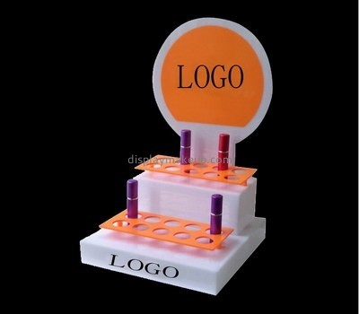 Customize lucite 2 tier display stand DMD-2324