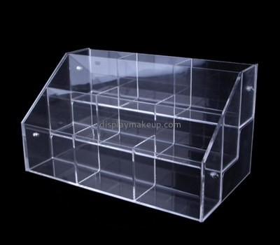Customize acrylic three tier display shelf DMD-2330