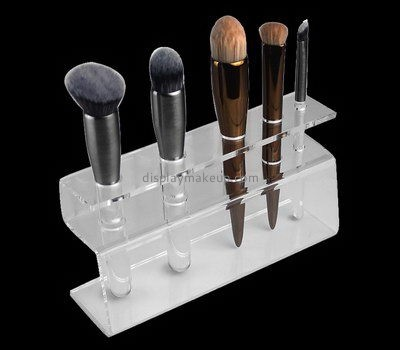 Customize acrylic make up brush holder DMD-2353
