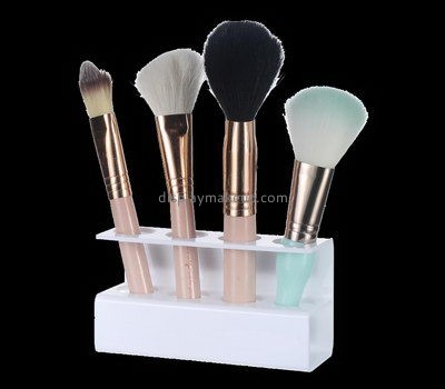 Customize acrylic cheap makeup brush holder DMD-2354