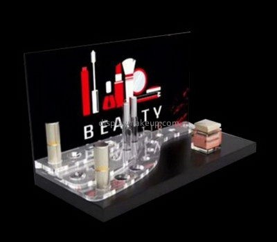Customize plexiglass beauty display stands DMD-2374