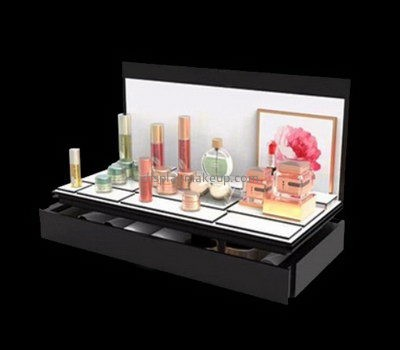 Customize lucite beauty product display stand DMD-2375