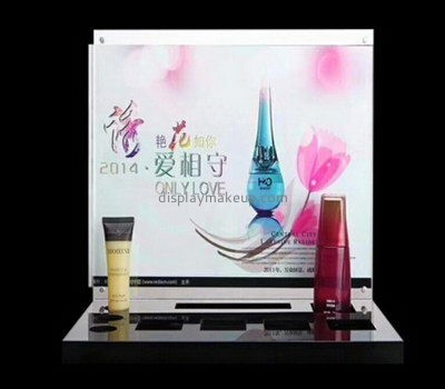Customize perspex beauty product display stand DMD-2377