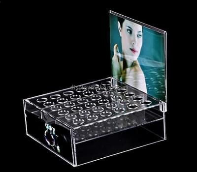 Customize lucite makeup lipstick holder DMD-2403