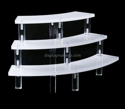 Customize acrylic three tier stand DMD-2405