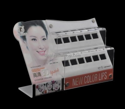 Customize retail acrylic counter display units DMD-2416