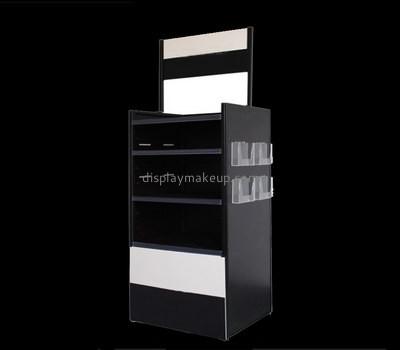 Customize acrylic black display cabinet DMD-2417