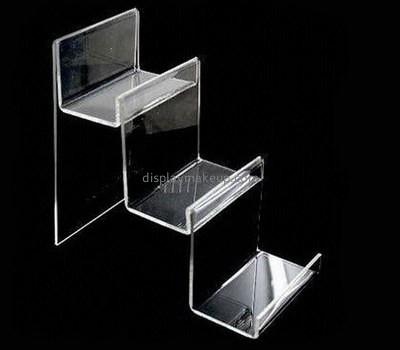 Customize acrylic 3 tier display shelf DMD-2448