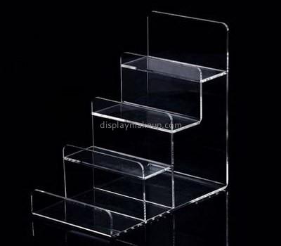 Customize acrylic 4 tier display shelf DMD-2451
