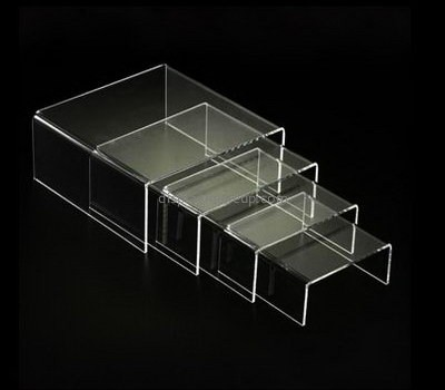 Customize acrylic riser display stands DMD-2467