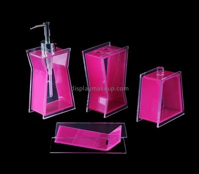 Acrylic hand lotion pump dispenser DMD-2511
