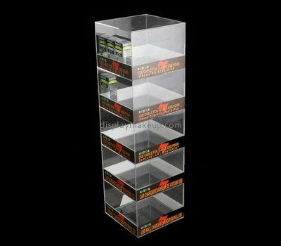 Acrylic tall display cabinet DMD-2535