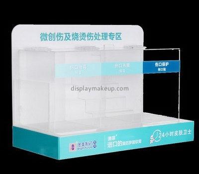 Acrylic tiered display rack DMD-2550