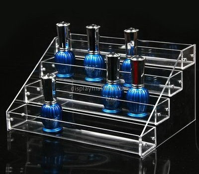 Clear acrylic 4 tiered nail polish display holders DMD-2568