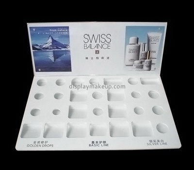 Retail acrylic skin care display stands DMD-2576