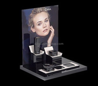 Counter top acrylic cosmetics display stands DMD-2585