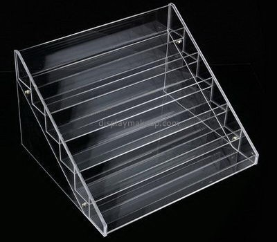 Custom 6 tiered clear acrylic nail polishing display stands DMD-2593