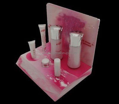 Customize retail acrylic skin care display stand DMD-2599