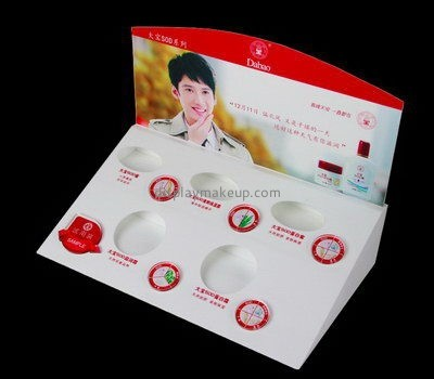 Customize countertop acrylic skincare display holders DMD-2609