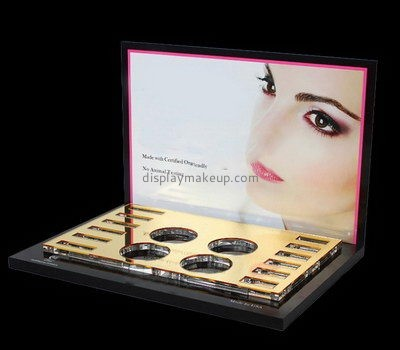 Customize counter top acrylic cosmetic display holder DMD-2614