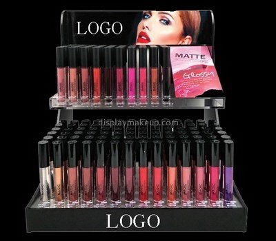 Customize counter top acrylic lipstick display stands DMD-2613