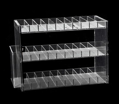Custom 3 tier acrylic lipstick display racks DMD-2635