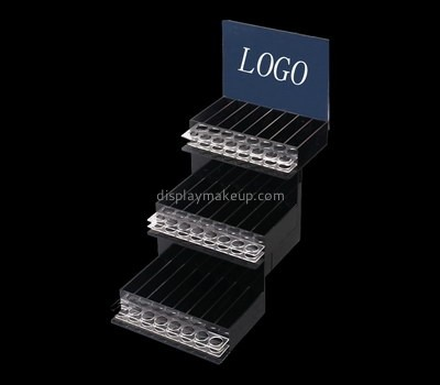Custom tiered acrylic makeup display stands DMD-2663