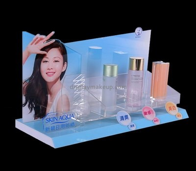 Custom promotional acrylic cosmetic display stands DMD-2675