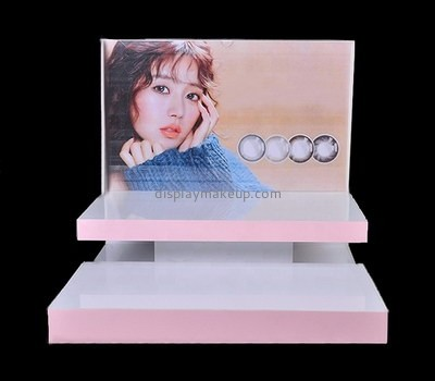 Custom tiered acrylic makeup display stands DMD-2691