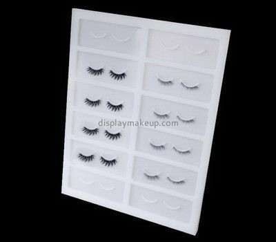 Custom retail perspex eyelash holder DMD-2731