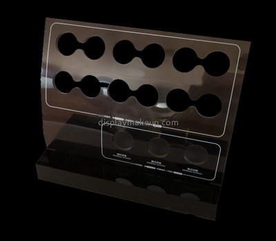 Custom retail clear perspex makeup displays DMD-2732