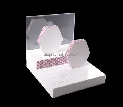 Custom acrylic cosmetic display stands DMD-2759