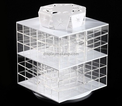 Custom 4 sided rotating acrylic lipsticks display holders DMD-2782